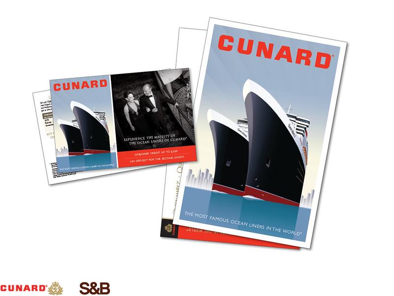 CUNARD CRUISE LINES  |  SARGENT & BERMAN