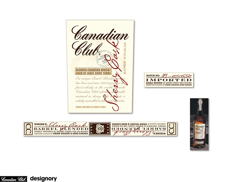 CANADIAN CLUB  |  DESIGNORY