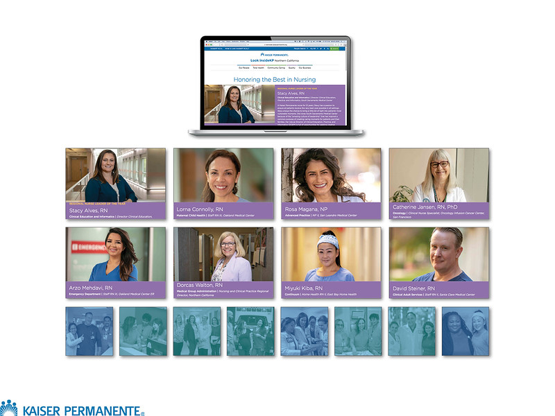 NURSE WEEK CAMPAIGN | KAISER PERMANENTE