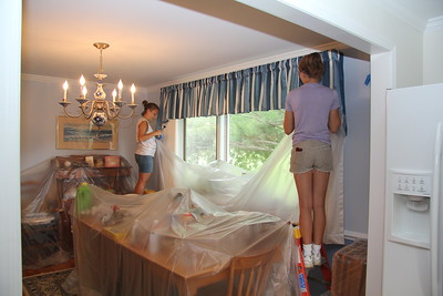 Covering new drapes