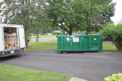 Dumpster -- FULL after first day!