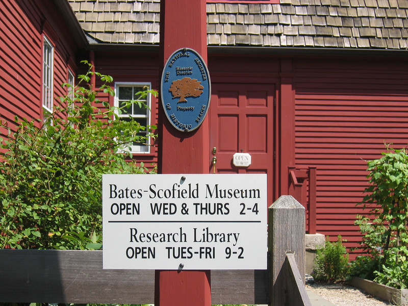 Darien Historical Society/Bates Scofield House, 1736 -1