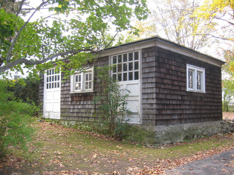 Tyler House Garage and Root Cellar