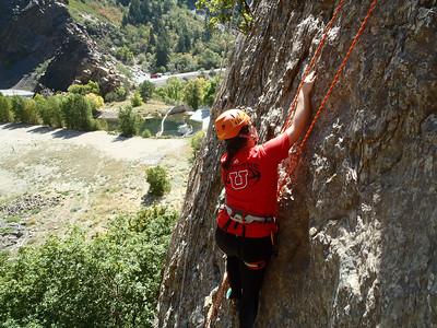 Climbing Taylor D.