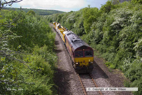 2014, 9th May, HOPS electrification train
