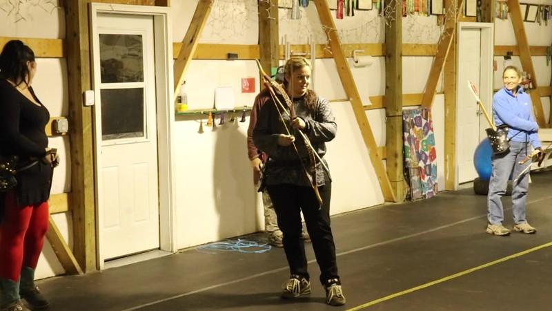 2nd Archery class
