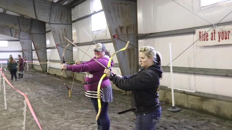 Ground work, archery class