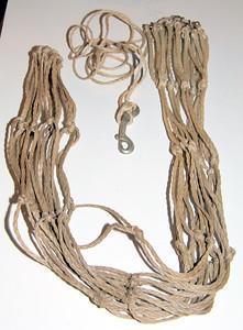 Nylon hay net -- $1.00
