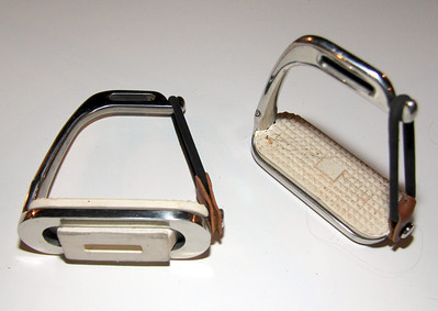 Break-away English stirrup irons (like new) --  $12.00