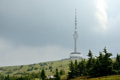 Praděd - nejvyšší hora Moravy (1492 m)