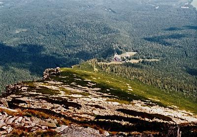 Vysoké Tatry - 1. pokus o výstup na Slavkovský štít