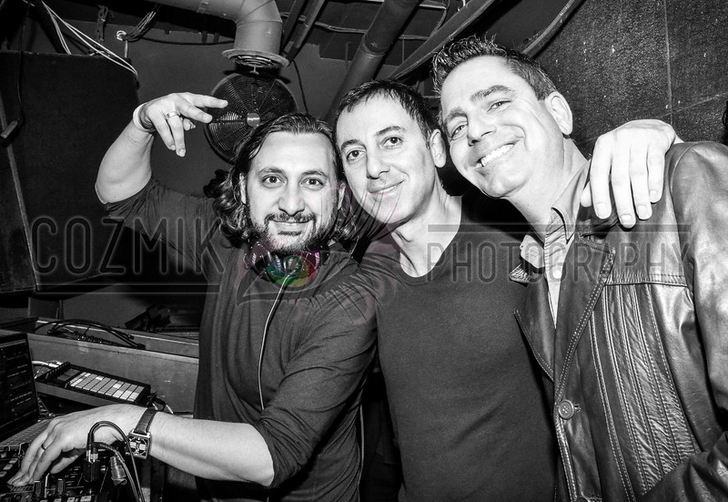 DJ Sharam, Dubfire & DJ Earic Patten - longtime friends rooted deep in DEEP>DISH history, shared a warm reunion after many years!