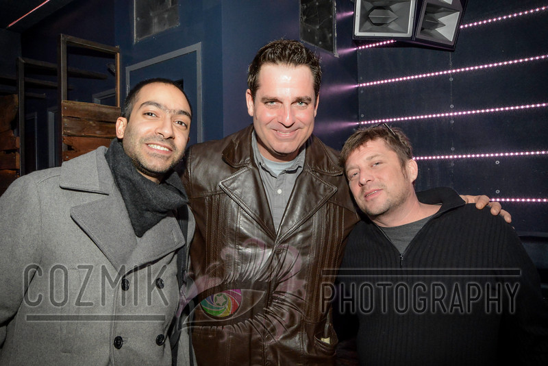Earic with Flash Owners, Navid and David [Afshin was at BPM this night] - Thank you!