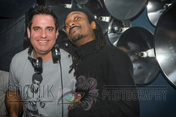 """Earic with longtime friend & fellow DC House Master, Freddy """"Double 07"""""""