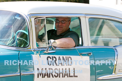 Howell High School 2010 Homecoming Parade Grand Marshall - Ron Wilson - Howell Public School District Superintendent
