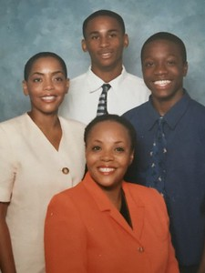 Melissa Ann Soverall-Atwell (l) C. Erica Soverall-Nisbett (c bottom) Thomas Moore (r)