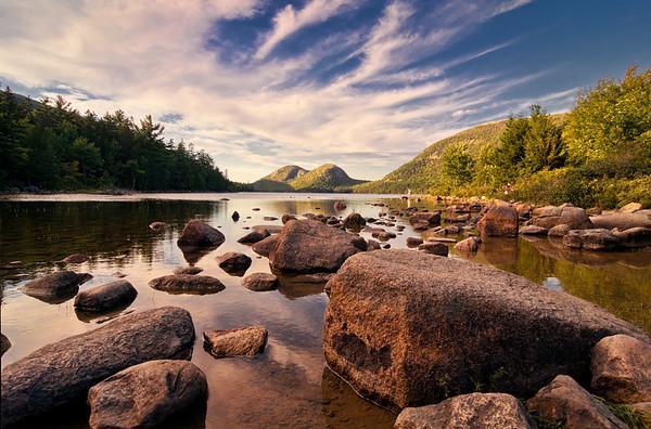 Jordan Pond Rocks, Acadia National Park 9763