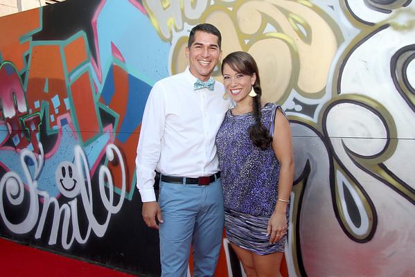 Arrival  Photos at the Graffiti Wall