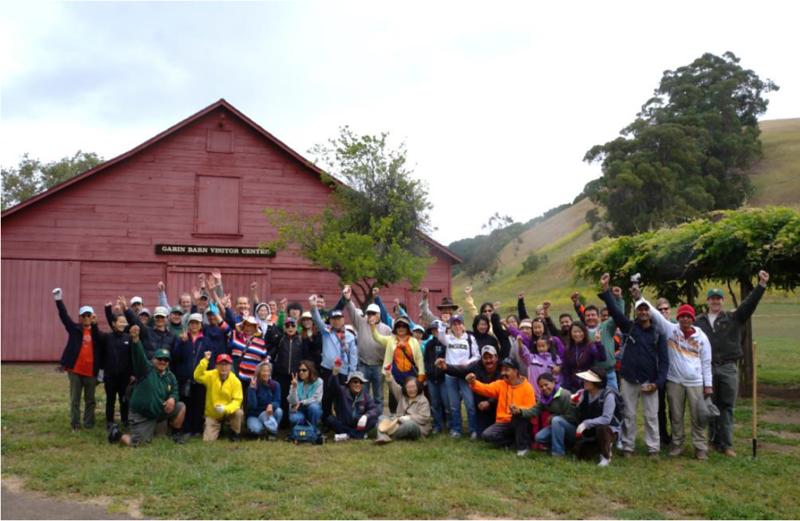 80+ Participants at Garin Regional Park