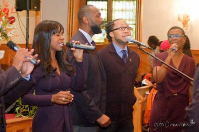 Deborah Alexis (née Alexis), Leroy James, Roderick Chase III, Rhonda Cox (née Bedeau)