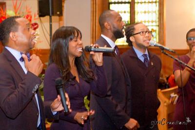 Jeremiah Cox, Jr., Deborah Alexis (née White), Leroy James, Roderick Chase III, Rhonda Cox (née Bedeau)