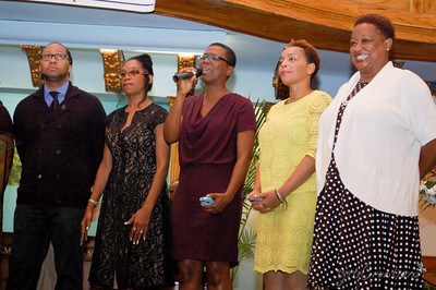 Roderick Chase III, Maureen Griffith, Rhonda Cox (née Bedeau), Melissa Soverall-Atwell, Michelle Henry-King