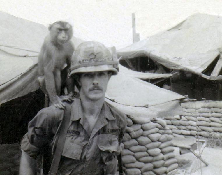 Al Bedford & Charlie 1968 at Bronco