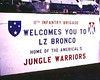 Bronco HQ brigade sign 68