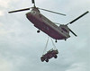 Chinook delivering a 3/4 ton truck