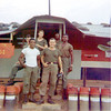 L-R: Joel Mathews, Leroy Pierre, Bud Dotson, Al Emmons, Sgt. Jordan, Smitty