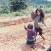 Kids near Duc Pho