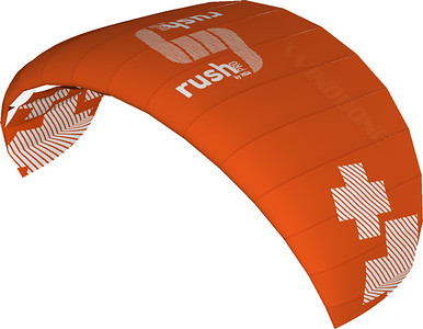 HQ4 Rush Pro 350 Trainer Kite Color Orange