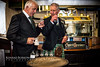 HRH Prince Charles with Mickie Heads in Ardbeg Distillery