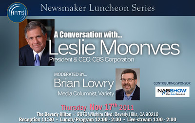 A Conversation with Les Moonves Nov 17 2011