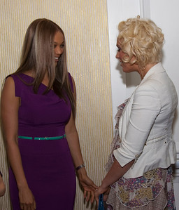 Tyra Banks & Caridee English