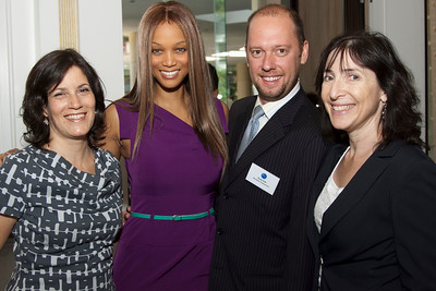 Laura Armstrong (Bankable Productions), Tyra Banks, Brad Sisk (Bankable Productions), Nancy Josephsom (Endeavor)