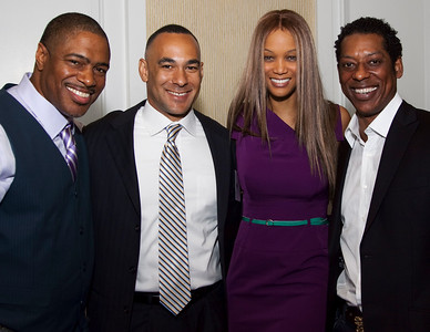 Ali LeRoi, Matt Johnson, Tyra Banks, Orlando Jones