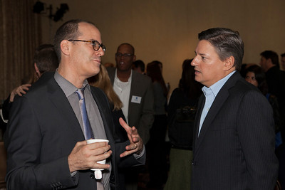 David Nevins (President of Entertainment, Showtime Networks, Inc.) and Ted Sarandos (CCO, Netflix)