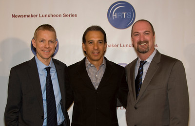 Kevin Beggs (President, Lionsgate TV), Van Toffler (President, MTV Networks Music/Films/Logo Group), & Dave Ferrara (Executive Director, HRTS)
