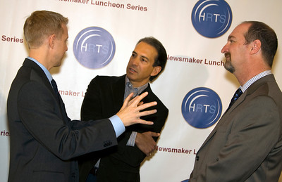 Kevin Beggs (President, Lionsgate TV), Van Toffler (President, MTV Networks Music/Films/Logo Group) & Dave Ferrara (Executive Director, HRTS)