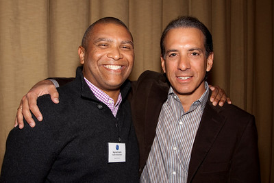 Reginald Hudlin (Hudlin Ent.) & Van Toffler (MTV Networks Music/Films/Logo Group)