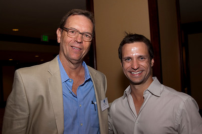Scott Carlin (Soul-Centered Media & HRTS Board Member) and Mike Terbeek (MK Capital).
