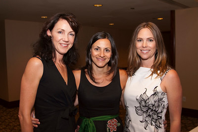 Moira McDonald (Wired Magazine), Christine McClain (Wired Magazine) and Laura Hill (Conde Nast Digital).