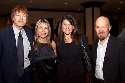 Rick Brulte (New Direction Media), Jen Grinsante (Jen Grisanti, Inc.), Diane Gross (Law Offices of Diane Gross) and David Brownstein (Hollywood Coaching).
