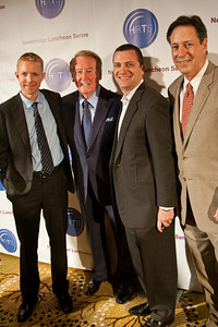 Kevin Beggs, Vin Scully, Jordan Levin and Andy Friendly.