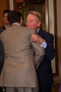 Andy Friendly and Vin Scully.