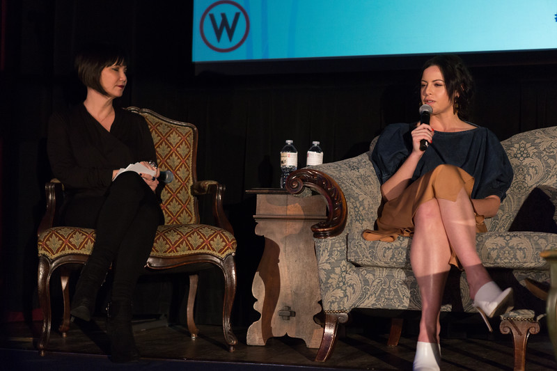 Laverne McKinnon (Producer and Certified Coach/Grief Recovery Specialist) and Sophia Amoruso (Founder and CEO, Girlboss)