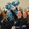 GREG SUKIENNIK -- BENNINGTON BANNER<br /> The South Burlington High School dance team finished first in the pom division at a dance meet at Mount Anthony Union High School on Jan. 19, 2018.