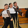 GREG SUKIENNIK -- BENNINGTON BANNER<br /> Lamoille Union High School won the hip-hop competition at a dance meet at Mount Anthony Union High School on Jan. 19, 2018.