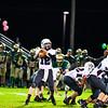 Ayer Shirley quarterback Steven Lawton surveys the field. Nashoba Valley Voice/Ed Niser